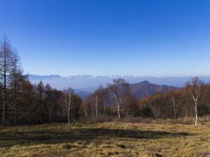 美ヶ原スカイラインから望む北アルプスの山々 - -松本市- -