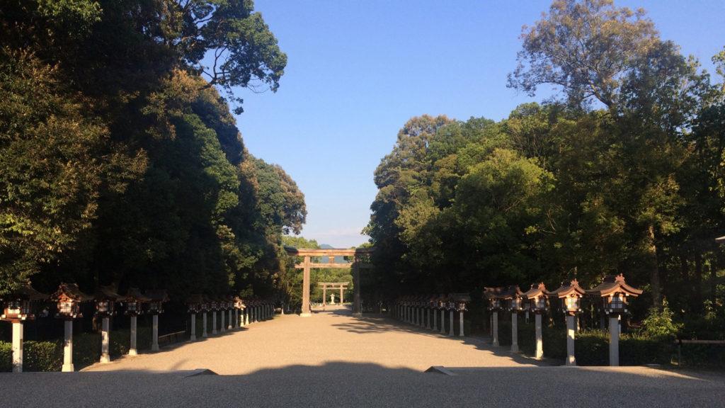 神々しさを感じる2678年前に日本のはじまった地:橿原神宮 - -橿原市:橿原神宮- -