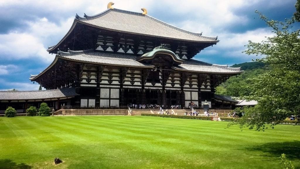 世界最大級の木造建築:東大寺金堂(大仏殿) - -奈良県:東大寺- -