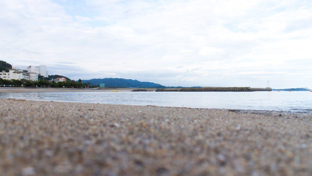 人気の無い冬の恵比寿海岸(吉良ワイキキビーチ) - -愛知県西尾市にある観光、撮影スポット- -